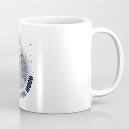 Dogecoin To The Moon Funny Crypto Cryptocurrency Coffee Mug