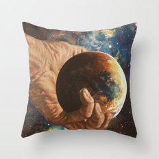 In Good Hands Throw Pillow