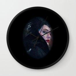 Maleficent in Oil / Sleeping Beauty Wall Clock