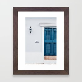 Old San Juan Framed Art Print
