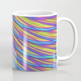 Rainbow Weave Coffee Mug