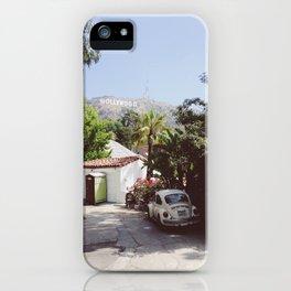 Hollywood, California iPhone Case