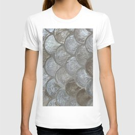 Silver scales T-shirt