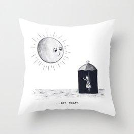 Don't Sunshine On My Rain Parade Throw Pillow