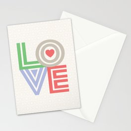 Valentine Love note Stationery Cards