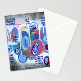 Abstract Drips Stationery Cards