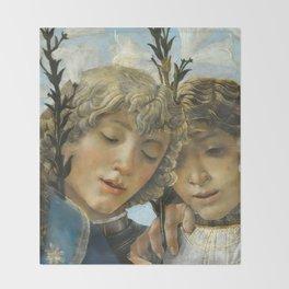 Sandro Botticelli - Angels 1. detail Decke