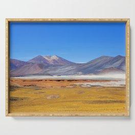 Atacama Salt Lake Serving Tray