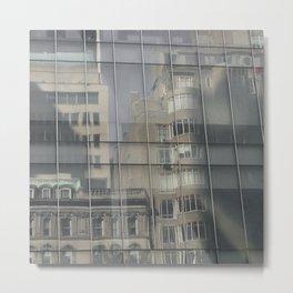 NYC Reflection Metal Print