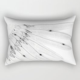 Angel Wing or Living Creature Wing Rectangular Pillow