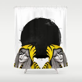 Lucy Furr Shower Curtain