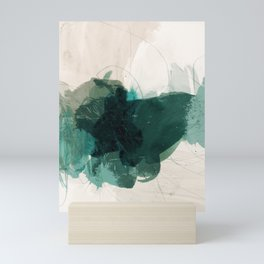gestural abstraction 02 Mini Art Print