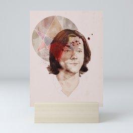 Men of Letters Mini Art Print