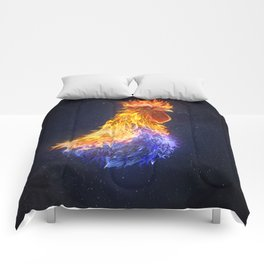 Fire Rooster Comforters