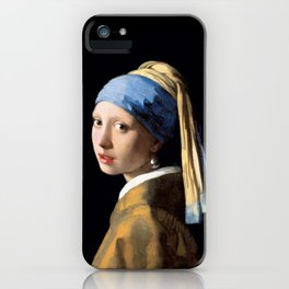 Girl with a Pearl Earring - Jonah Vermeer iPhone Case