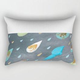 frogs in hong kong Rectangular Pillow
