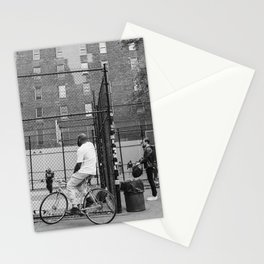 New York Basketball III Stationery Cards