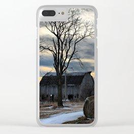 Rural Centralia Clear iPhone Case