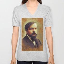 Claude Debussy, Music Legend Unisex V-Neck