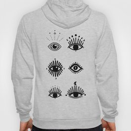 Midnight Mystic eyes Hoody