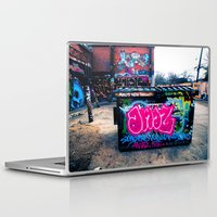 grafitti Laptop & iPad Skins featuring Amazed Grafitti by Squint Photography