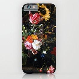 Maria van Oosterwyck Bouquet of Flowers in a Vase iPhone Case