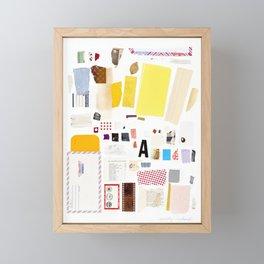 Hunter Gatherer Framed Mini Art Print