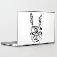 donnie darko Laptop & iPad Skins featuring Apocalypse Darko by Cherry Virginia