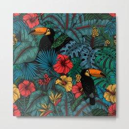 Toucan garden  Metal Print