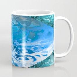 Meditating Entity (blue) Coffee Mug