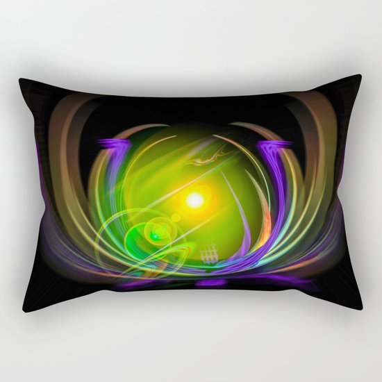 Magical Light and Energy 11 Rectangular Pillow
