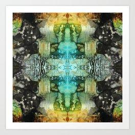 MANDALA Colorful Abstract Pattern Art by Michel Keck Art Print