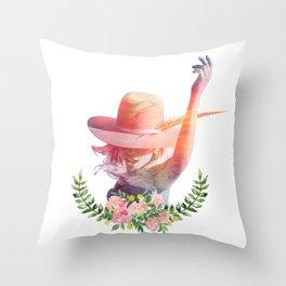 A-YO Throw Pillow