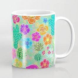Cactus Festival Party - Green Coffee Mug