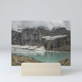 Grinnell and Salamander Glaciers, Soon Things of the Past Mini Art Print