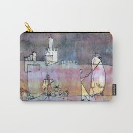 Paul Klee Episode Before an Arab Town Carry-All Pouch