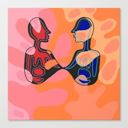 Nice to meet you Canvas Print