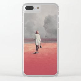 Watching you Leave me. Didn't want to Clear iPhone Case