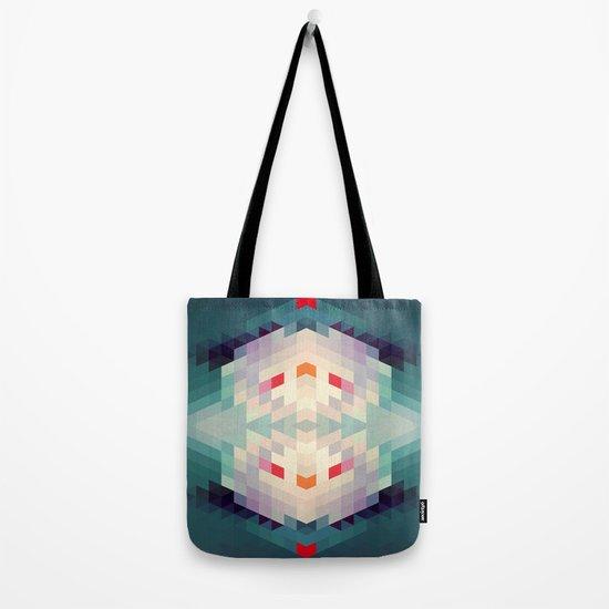 GeoAqua Tote Bag