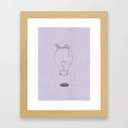 The Lamp Framed Art Print