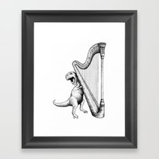 The Struggle Framed Art Print