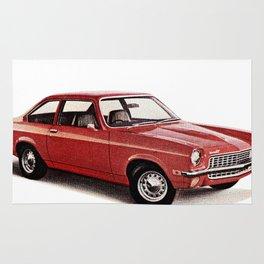 1970's Chevy Vega Rug