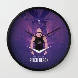 Pitch Black - Badass Riddick Wall Clock