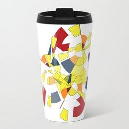 Geometric Mood Travel Mug