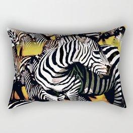 ZEBRA:  GO YOUR OWN WAY Rectangular Pillow