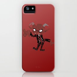 little demon soul eater iPhone Case