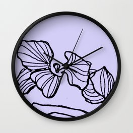DELICACY ISN'T A FRAGILE THING Wall Clock