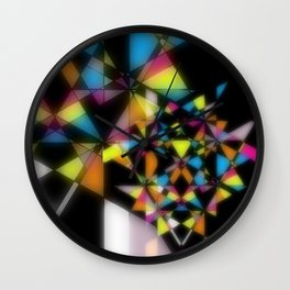 Electric Records Wall Clock