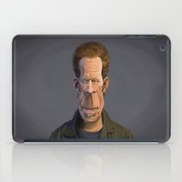 tom waits iPad Cases featuring Celebrity Sunday ~ Tom Waits by rob art   illustration