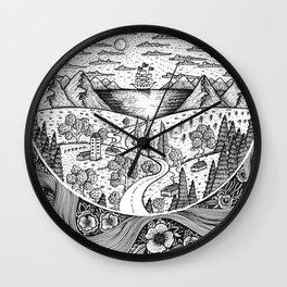 Eternal Landscape Wall Clock